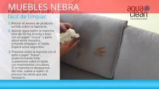 Nuevo tapizado ANTIMANCHAS en Muebles Nebra Zaragoza