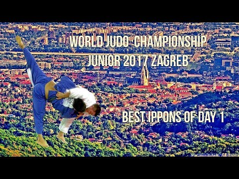Best ippons in day 1 of World Judo Championship Juniors 2017 Zagreb