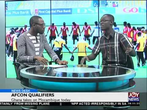 AFCON Qualifiers - News desk on Joy News (24-3-16)