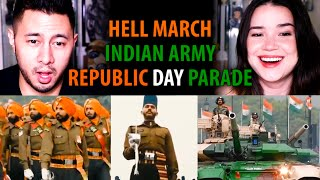HELL MARCH | Indian Army (Republic Day Parade) | Reaction | Happy Republic Day! | Jaby Koay