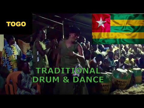 Traditional Togolese music and dance
