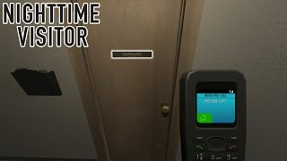This Game Is Like Hello Neighbor In The Office!!! | Nighttime Visitor