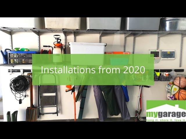 MyGarage: 2020 Garage Makeover Installations