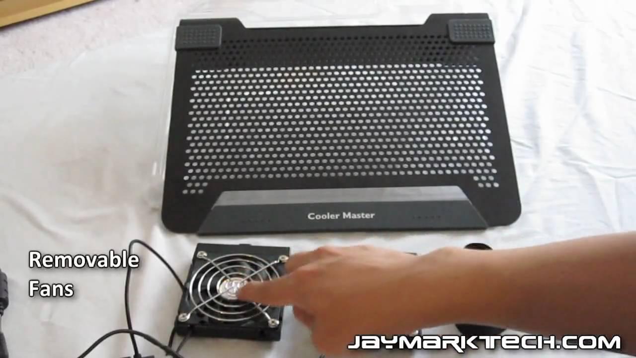 d7cd29b587 Cooler Master Notepal U2 Notebook Cooler Review - YouTube