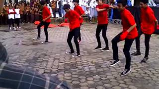 Asy Lanning Shuffle Live Perform Kreapel SMAN 10 Pekanbaru