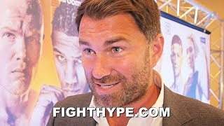 EDDIE HEARN RAW ON NEW JOSHUA MEETING ABOUT RUIZ, SPENCE VS. PORTER ON PPV, & GERVONTA DAVIS OFFERS
