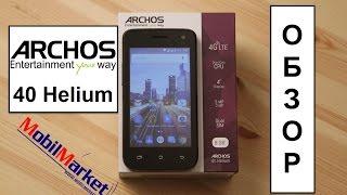 обзор Archos 40 Helium - SC9830, 1/8GB, 4.0