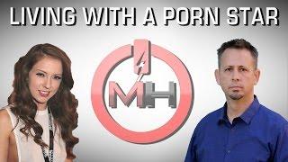 Ex-Porn Addict Lives With Porn Star Maddy O'Reilly for Shame