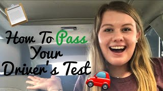 How To Pass Your Driver's Test!! Secrets Revealed!!