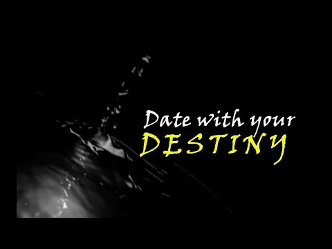 DATE WITH YOUR DESTINY  (Autores: Equipo Médium Usón)