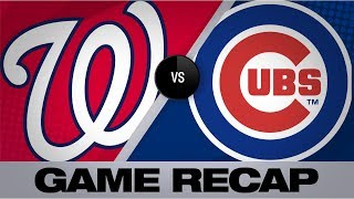 Kendrick, Gomes lift Nationals in win | Nationals-Cubs Game Highlights 8/24/19