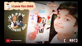 Happy Father's Day | Preparation a gift card on Father's Day | AAA Infotainment