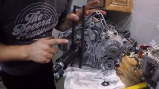 Yamaha Raptor 700 Engine Assembly Part 1