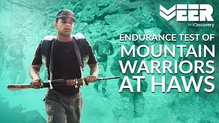 Endurance Test: Making of Mountain Warriors   High Altitude Warfare School E1P5   Veer by Discovery