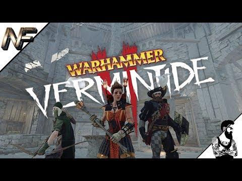 Warhammer Vermintide 2 - Sienna - THE WAR CAMP & BOSS!!