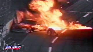 Gary Batson Fatal Crash 1992 Sportsman 100 Qualifying Race