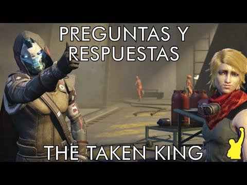 Destiny - Preguntas y Respuestas frecuentes del DLC de The Taken King
