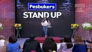 Pesbukers ANTV 1 Februari 2018 Part 2 . Bintang Emon Stand Up Tentang Perawatan Make Up Artis - Arti