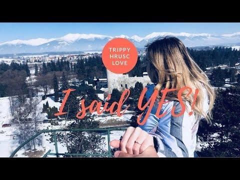#5 I said YES! ,Chateau GrandCastle,Travel couple vlog (Slovakia)
