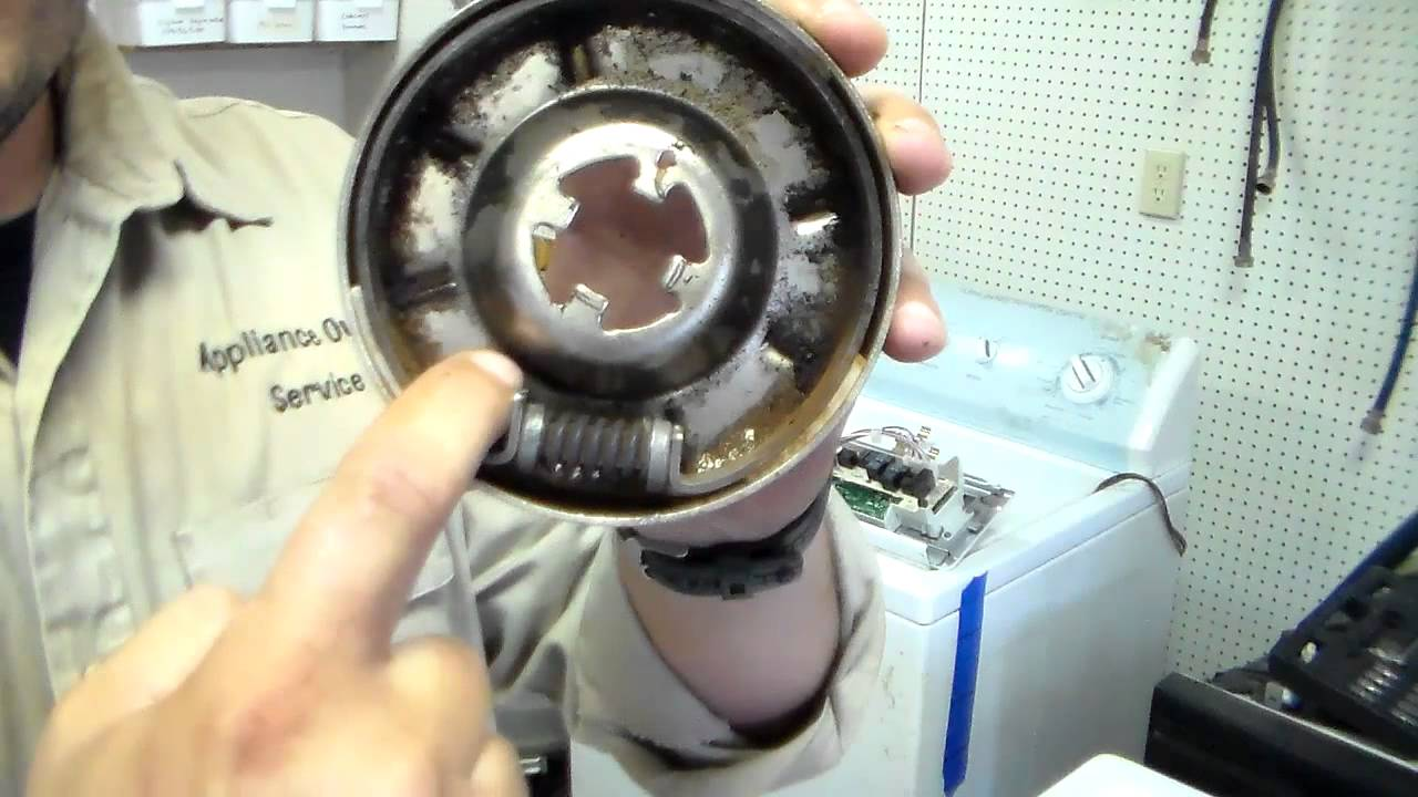 Kenmore whirlpool washer not spinning 1 doovi - Whirlpool washer clutch replacement ...