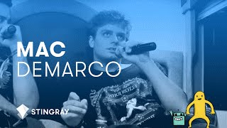 Mac Demarco describes his perfect woman and writing process @ Osheaga 2014