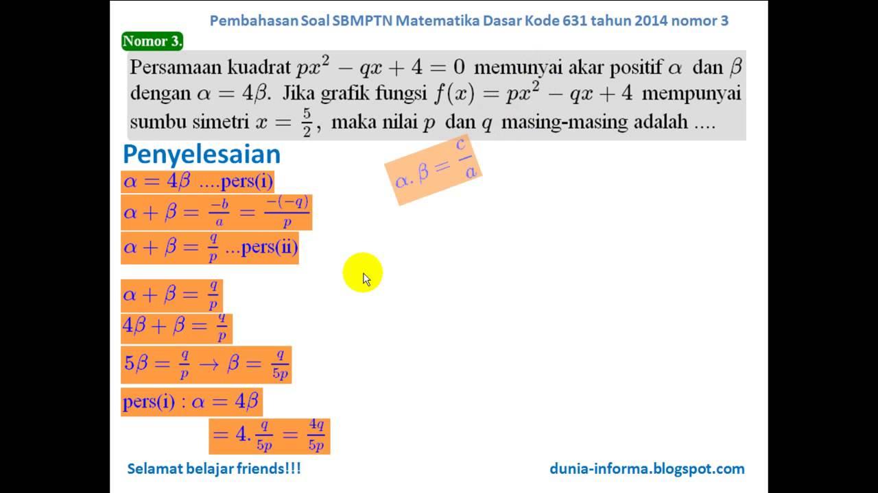 Dunia Matematika Newhairstylesformen2014 Com