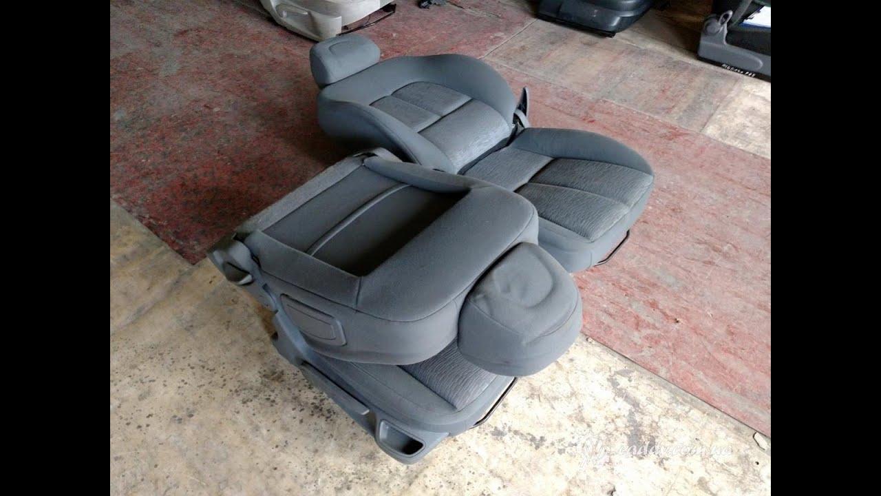 P407-1 Peugeot 407 - передние сиденья - YouTube