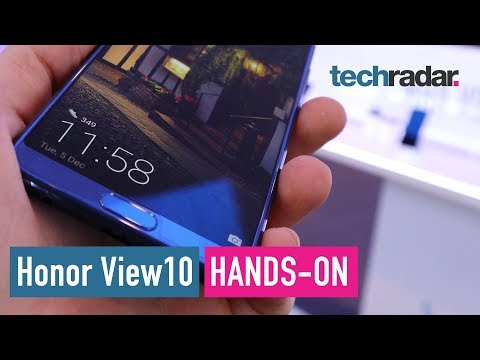 Honor View10 hands-on review