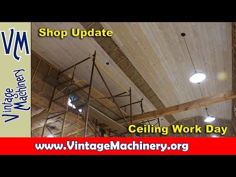 Odds & Ends 63: Shop Ceiling Workday
