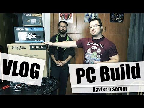 Vlog: Μικρός και ήσυχος server. Build day.
