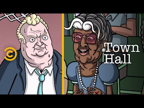 The Insane People at Every Town Hall Meeting - Town Hall