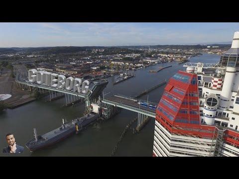 Sverige från himlen - Göteborg - Gothenburg - السويد بعيون الطيور