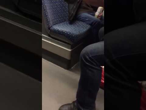 Bahn Ausraster Rassist - Der Deutsche Major
