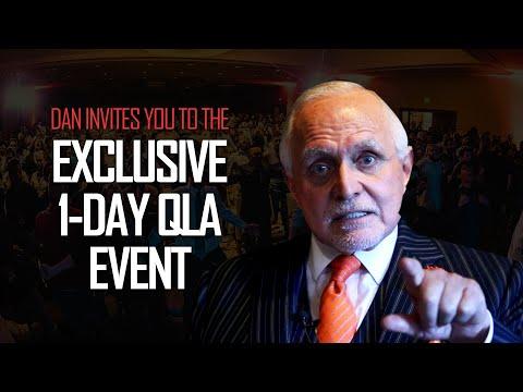 DAN'S MESSAGE   Trillion Dollar Man - 1-Day Exclusive QLA Event