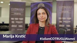 #JaSamCOTRUGLIAlumni: Marija Krstić