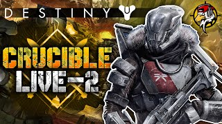 "Destiny PvP: ""JUST WARMiNG UP!"" - Crucible LiVE-2 w/ EliteShot (Destiny Titan Multiplayer Gameplay)"