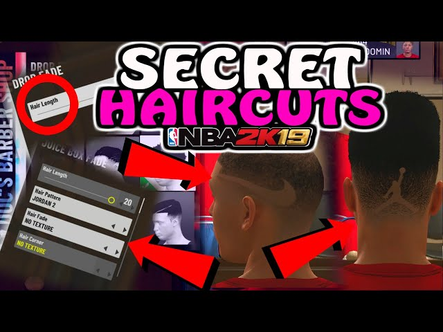 *SECRET* HIDDEN HAIRCUTS NOBODY KNOWS ABOUT IN NBA2K19!!! COOL EDIT OPTION