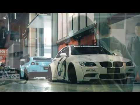 Installation of Liberty Walk BMW E92 M3 w/ Fi Exhaust Pt. 1 HD