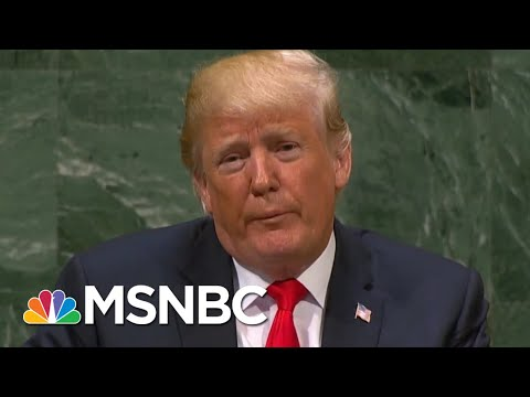 President Donald Trump's Infamous Gaffe Correction Strategy | All In | MSNBC