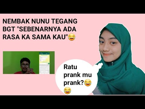 NEMBAK NUNU (YOUTUBER CAMPA) |PRANK CHAT PART 1