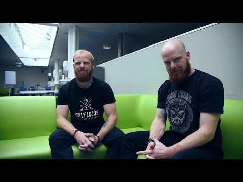 Jonas und David - Studium Audiovisuelle Medien und Sportwissenschaften