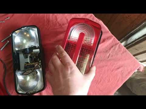 Обзор и установка. Задние фонари на ЛуАЗ от УАЗа в стиле Гелика