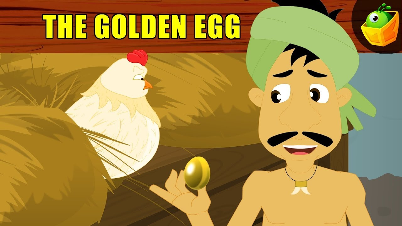 The Golden Egg- Aesop's Fables - Animated/Cartoon Tales For Kids