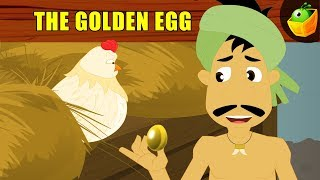 The Golden 🐣  Egg- Aesop's Fables - Animated/Cartoon Tales For Kids