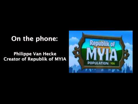 Republik of MYIA on America Tonight national radio show [HD]
