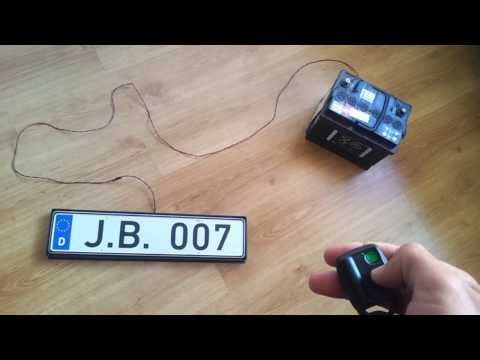 Magic License Number Plates! Watch this video!!!