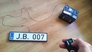 Magic License Number Plates! Watch this video!!! thumbnail