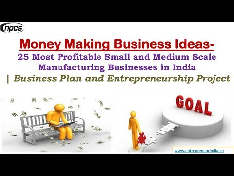 Money Making Business Ideas- 25 Most Profitable Small and