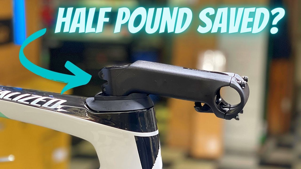 Download HOW MUCH WEIGHT IS SAVED WHEN SLAMMING YOUR STEM? (STOCK WEIGHT vs. SLAMMED STEM)
