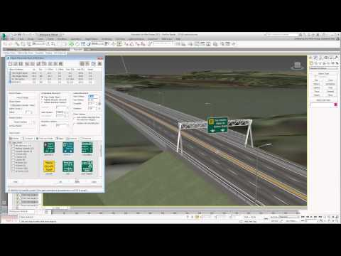 Using 3ds Max Design With Civil 3D - Part 16 - Placing Static Objects